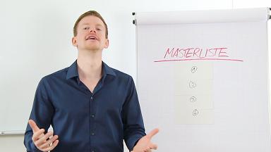 Video 1 - Die Masterliste