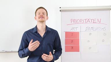 Video 4 - Prioritäten
