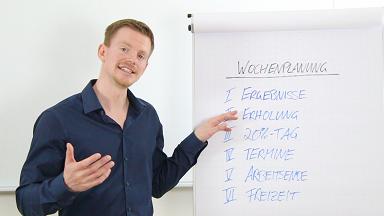 Video 4 - Wochenplanung